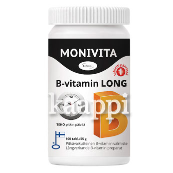 Витамин B Monivita B-vitamin long 100таб