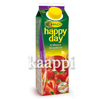 Сок Rauch Happy Day клубника 1л
