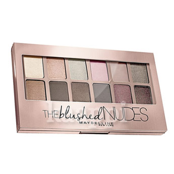 Палитра теней Maybelline The Blushed Nudes 10гр