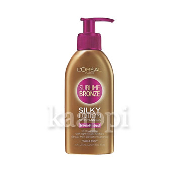 Крем-автозагар L'oreal sublime bronze Silky Lition 150мл