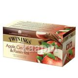 Чёрный чай Twinings Apple, Cinnamon & Raisin tee яблоко, корица 25пак