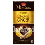 Темный шоколад Marabou Premium Dark Lemon & Ginger 40% 150г