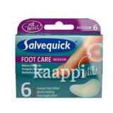 Пластырь от мозолей Salvequick Rakkolaastari Medium Foot Care 6шт